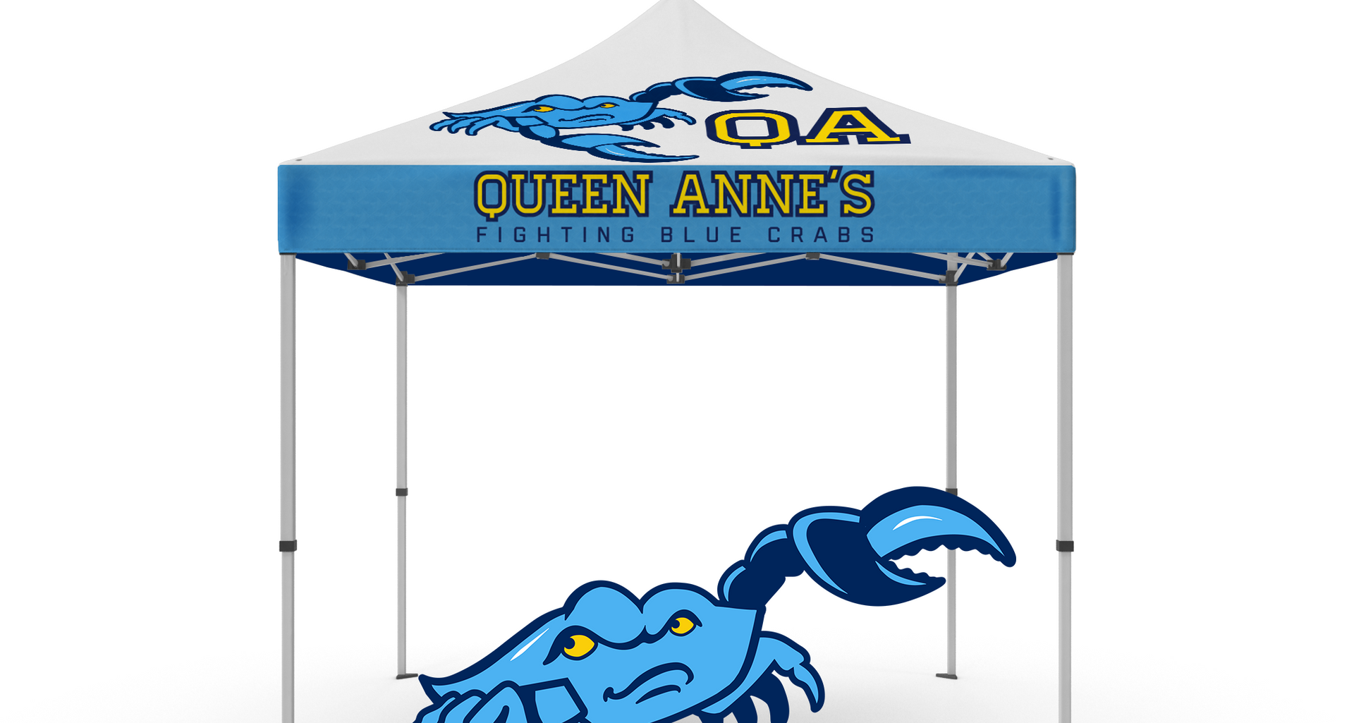 Fighting Blue Crab Tent
