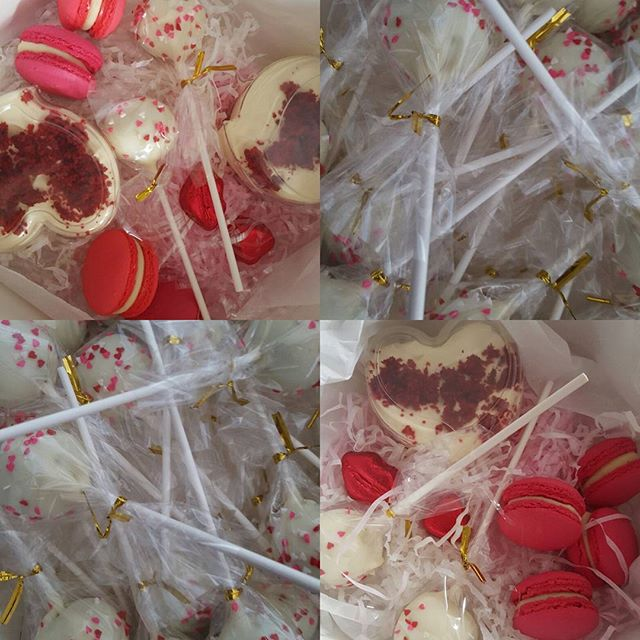 Thanks to all my lovely customers who purchased their valentines day packs, cupcakes and cakepops ♡♡