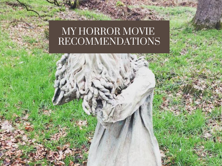 My Scary Movie Recommendations