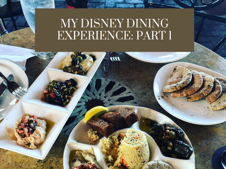 My Disney World Dining Experiences