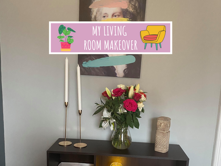 My Living Room Makeover