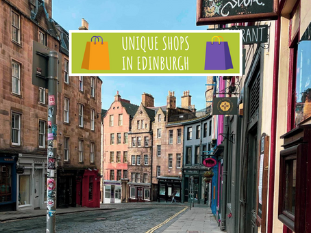 Unique Shops in Edinburgh