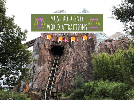 Walt Disney World Ride Must-Dos