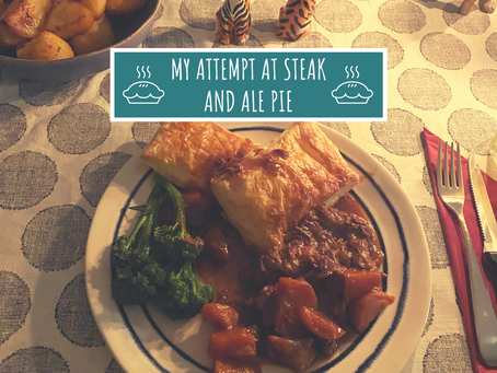 My Attempt At Steak and Ale Pie