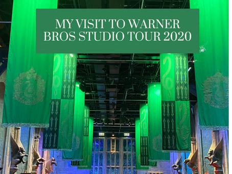 My Trip to Warner Bros Studio London 2020