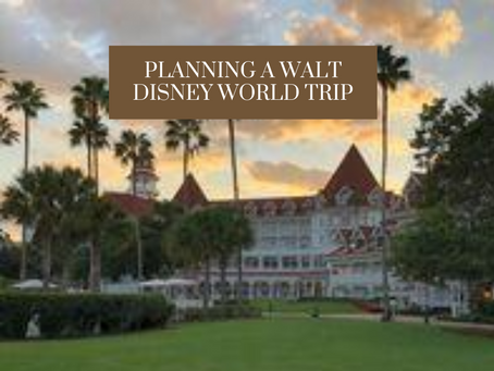 How to Plan a Walt Disney World Trip: Plus Free Planner!