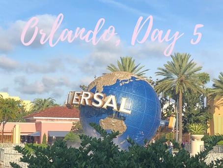 Orlando, Florida Trip, Day 5