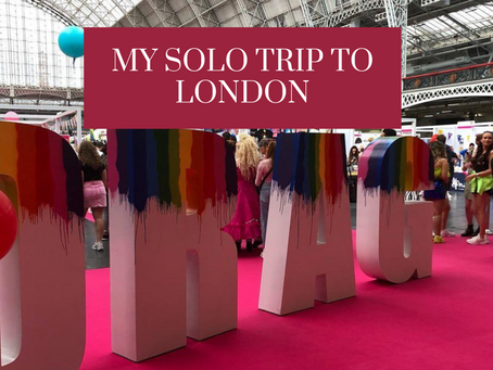 My Solo Trip to London
