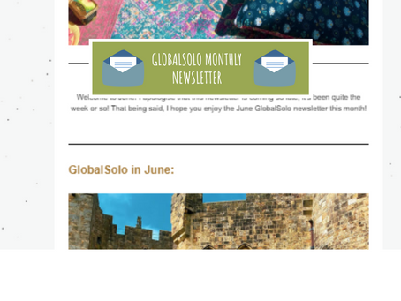 The GlobalSolo Monthly Newsletter