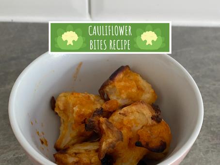 Cauliflower Bites Recipe