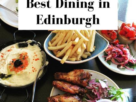 Best Dining Locations in Edinburgh