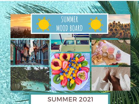 Summer Mood Board