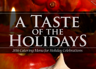 Distinctive Catering: Our Holiday Menu Is Here!