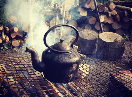 There's Tea in The Pot!!