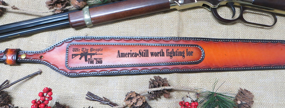 """""""Will Protect the 2nd"""" Still worth Rifle Sling"""
