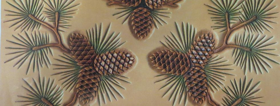 Floral #6  Pine Cone Designs