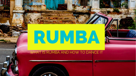 The Rumba as we know it today is one of the Ballroom dance styles which both occurs in Social Dancing and in Ballroom dance competitions.