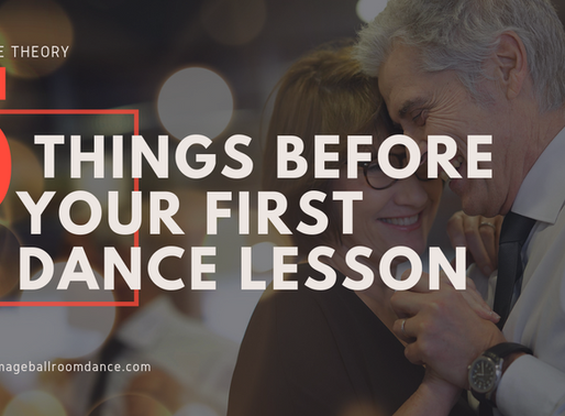 5 THINGS TO KNOW BEFORE YOUR FIRST DANCE LESSON