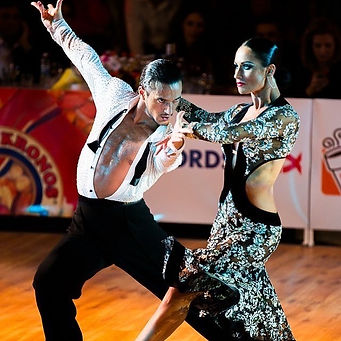 Dancesport Latin Dance Couple