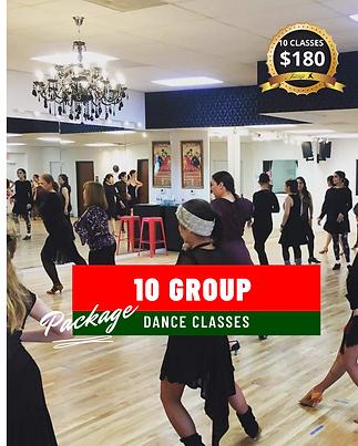 Group Ballroom Dance class Package