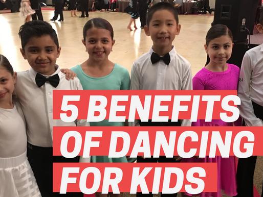 5 WAYS KIDS BENEFIT FROM BALLROOM DANCING