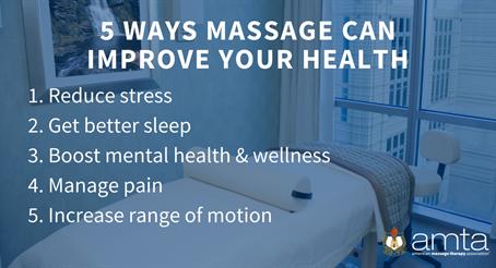 AMTA National Massage Therapy Awareness Week