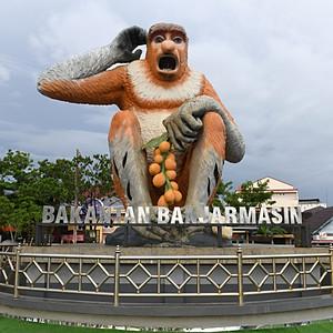 M&E activities in Banjarmasin, Indonesia