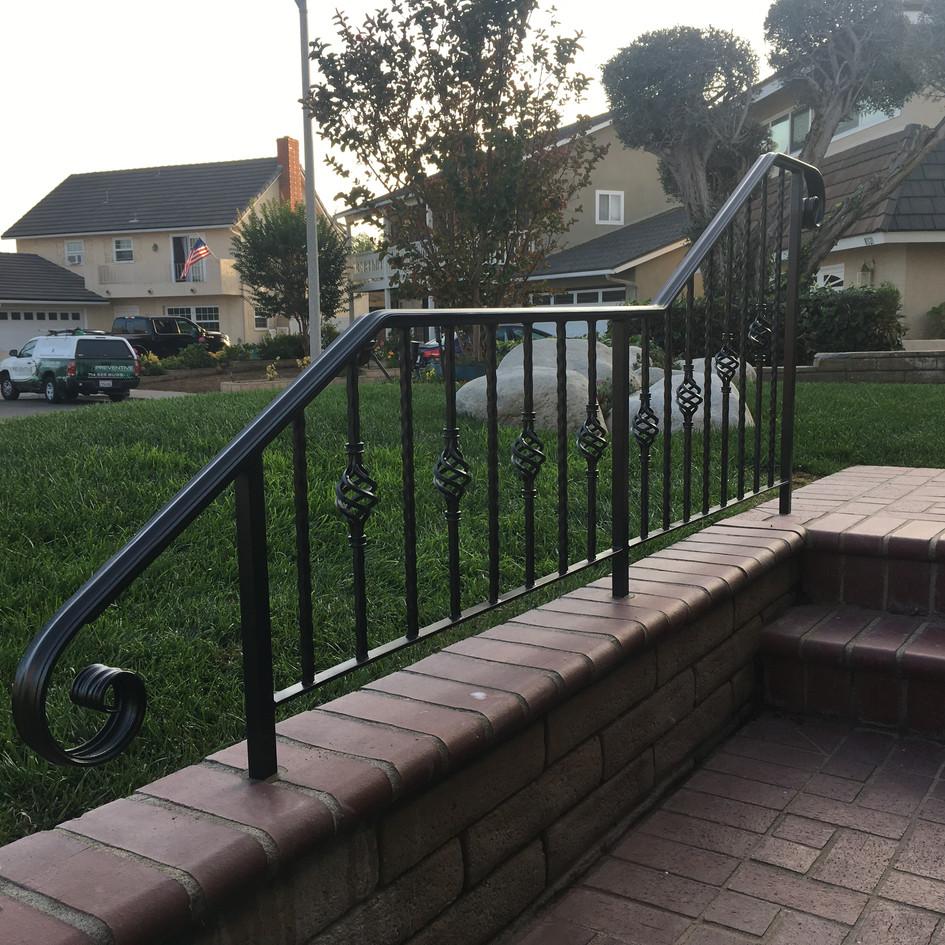 Custom Metal Handrail