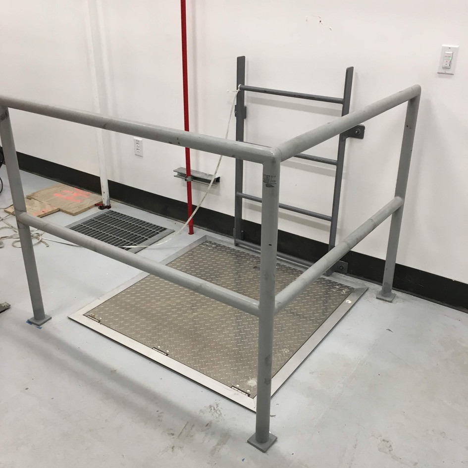 Protective Vault Rail