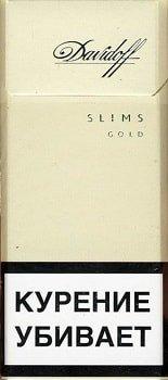 Davidoff Gold Slims 20's