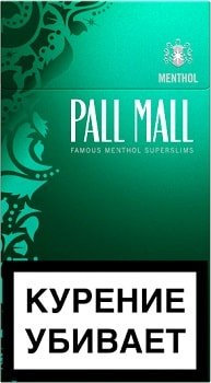 Pall Mall Superslims Menthol 20's