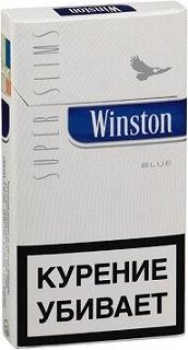 Winston Superslim Blue 20's