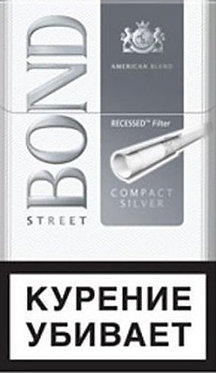 Bond Street Compact Silver 20's