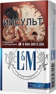 L&M Blue Label 20's