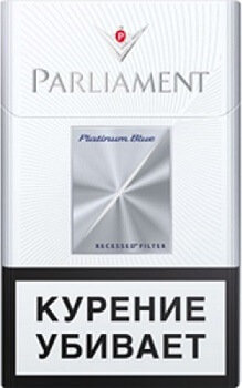 Parliament Platinum Blue 20's