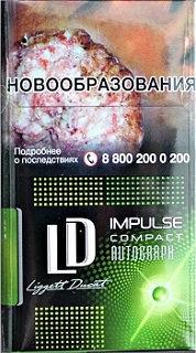 LD Autograph Impulse Compact Green 20's