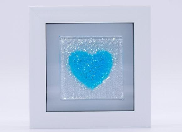 Blue Love Heart.