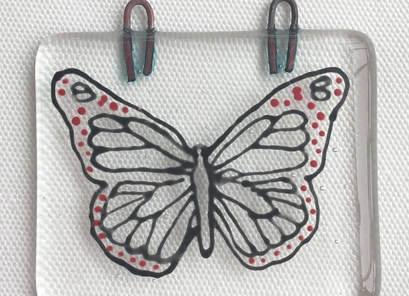 Black & Red Butterfly Hanger.
