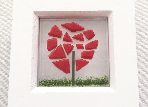 Red Allium Frame.