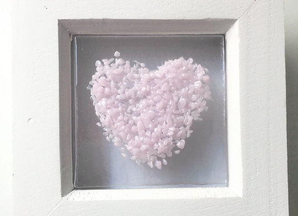 Light Pink Heart Frame.