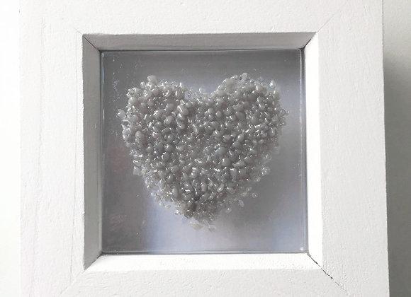 Grey Heart Frame.