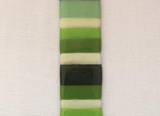Multi-Green Opalescent Light Catcher.