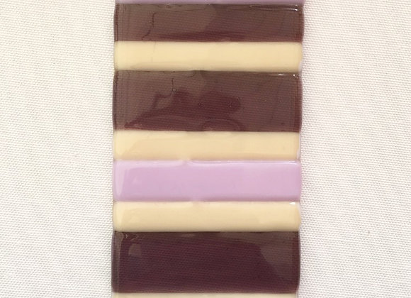 Purple & Cream Light Catcher.