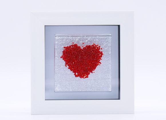 Red Love Heart Frame.