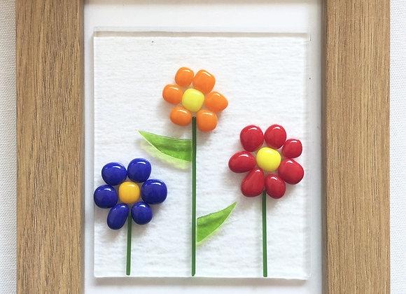 Bobble Daisy Flower Frame.