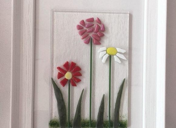 Triple Floral Frame