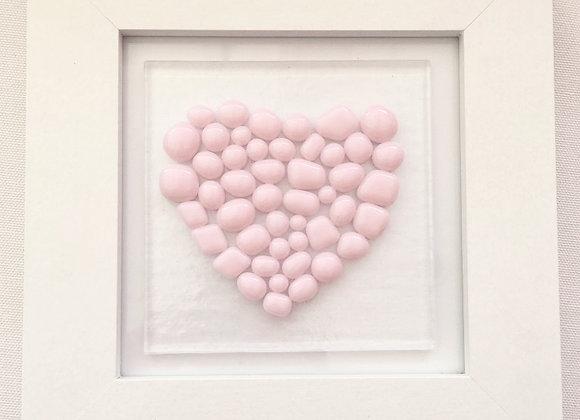 Light Pink Bobble Heart.