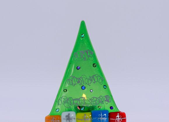 Tea-light Christmas Trees