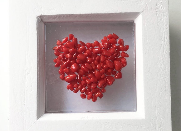 Red Heart Frame.