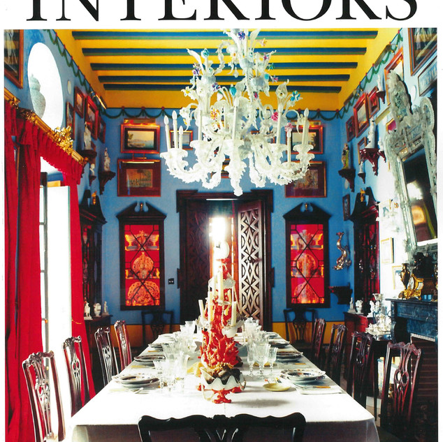 Cover The World of Interiors August 2019